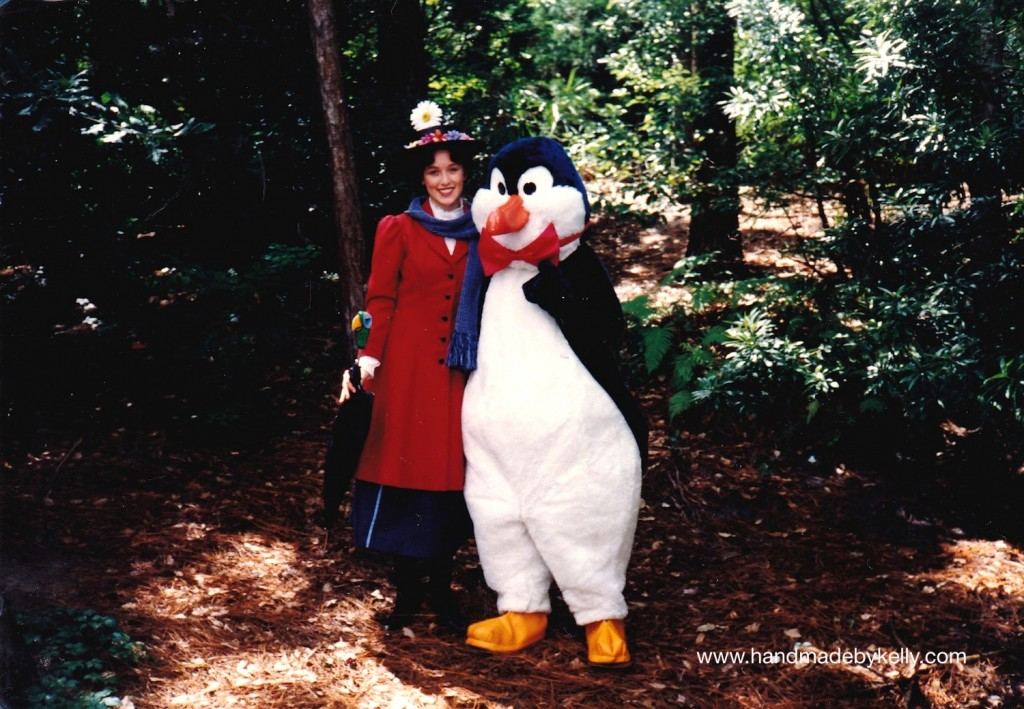 mary poppins and penguin disney world