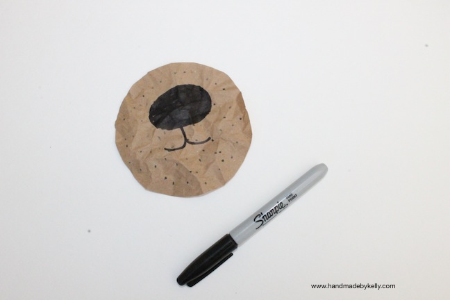 DIY: Hipster Bear Gift Wrap; www.handmadebykelly.com