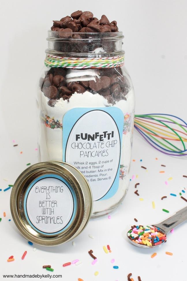 diy funfetti pancake mix; handmadebykelly.com; kelly ladd sanchez