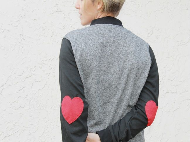 handmadebykelly.com; diy heart elbow patches; momtastic.com