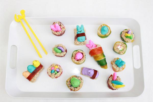 Peep Sushi; handmadebykelly.com