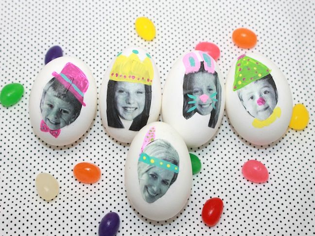 Photo Easter Egg Craft; handmadebykelly.com; momtastic.com