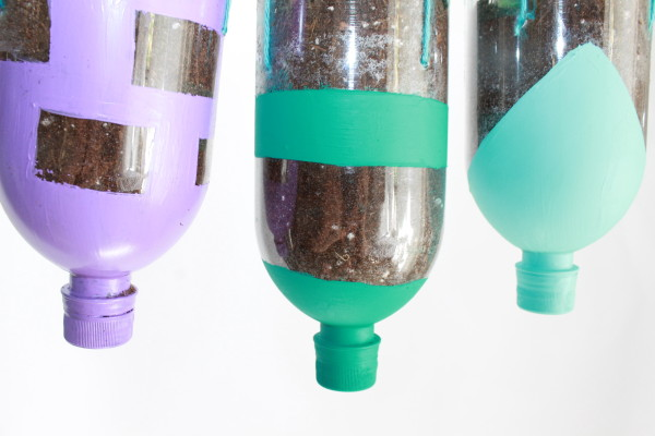 How to Make a DIY Planter Craft out of Recycled Water Bottles