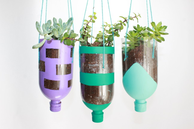 How To Make A Diy Planter Craft Out Of Recycled Water
