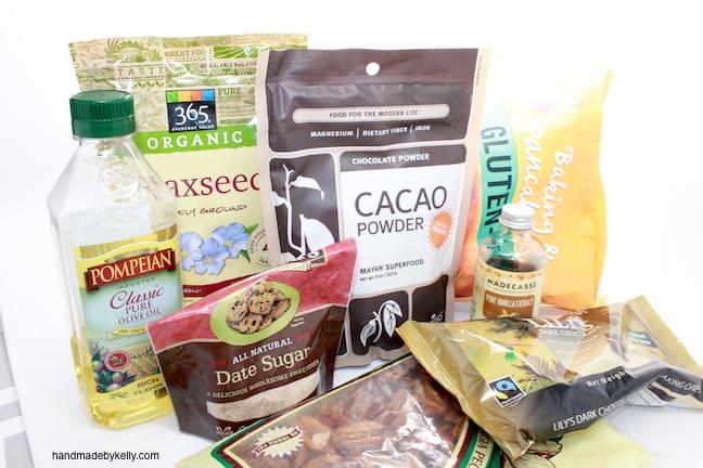 Handmadebykelly.com; Healthy Gluten free Brownie Recipe