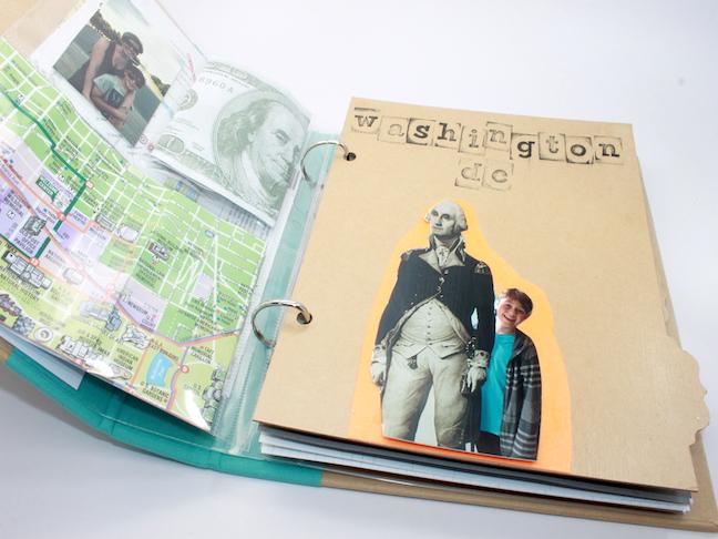 DIY Travel Journal - handmadebykelly.com