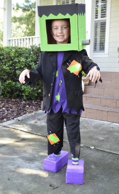 Diy Cardboard Halloween Costume Ideas Handmade By Kelly
