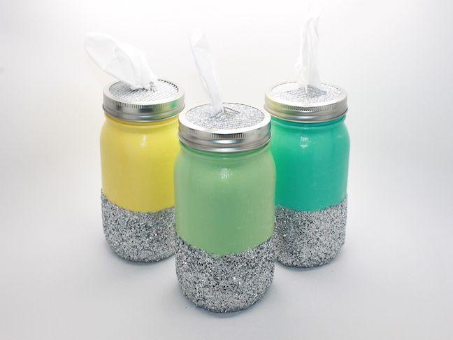 mason jar tissue holder handmadebykelly.com momtastic.com