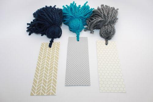 ultra plush tassel bookmark; thestir.com; handmadebykelly.com