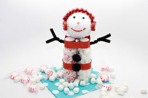 Hot Cocoa Snow Man Kit; thestir.com; handmadebykelly 1
