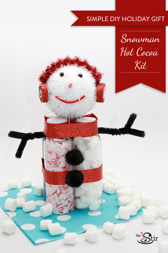 Hot Cocoa Snow Man Kit; thestir.com; handmadebykelly.com