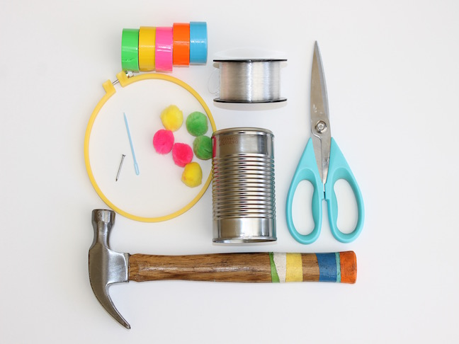 Make your own diy recycled tin can wind chimes handmade for How to make a windchime out of silverware